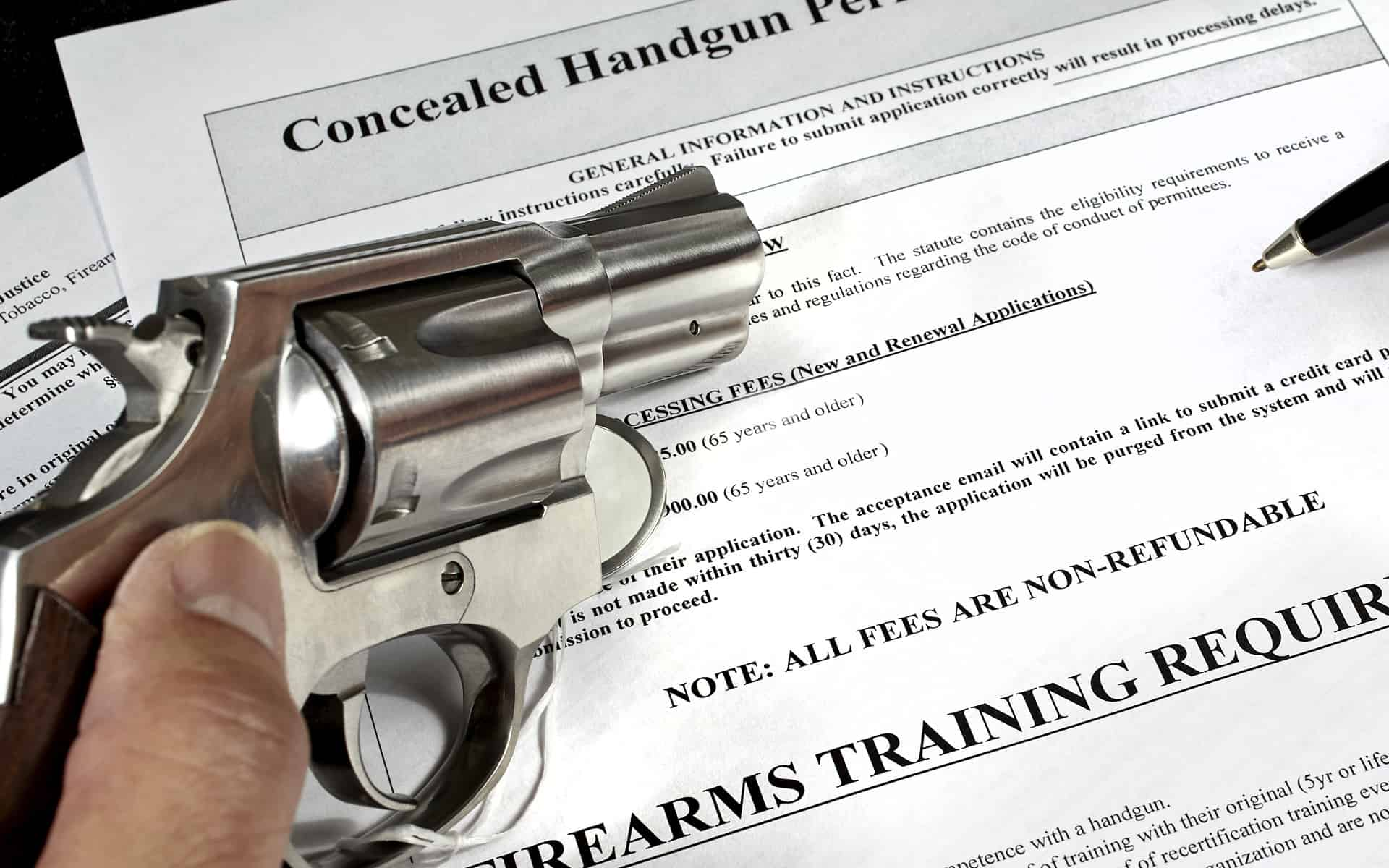 Firearms applications & renewals, Competency applications and renewals